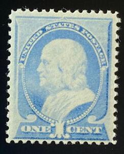 U.S.  212  Beautiful  Mint  NEVER   Hinged  Value  BRIGHT ULTRAMARINE VF  a 805