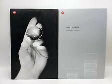 2003 Leica Lens Book M & R System Lenses Guide Book Advertising Brochure Manual