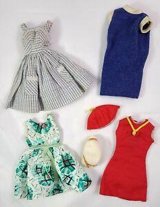 Vintage Doll Clothes Lot 1965 Tina Cassini Tressy British Crown Colony Hong Kong