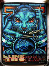 blink-182 Concert Poster - Las Vegas 2016 - Munk One - Signed - Numbered - /100