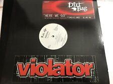 "DIRTBAG + TIMBALAND  HERE WE GO 12""2004 Promo Vinyl"