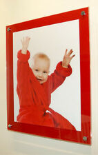 "Picture photo frame 16 x 20 ""/40 x 50 cm/ 20x16 "" Cheshire Acrylic wedding baby"