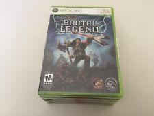 Brutal Legend (Microsoft Xbox 360, 2009) XBOX 360 NEW!