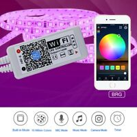 Mini WiFi Controller Remote Control for RGB/RGBW 5050 SMD LED Strip light 5V-28V