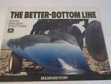 John Deere 2000 2810 3710 3945 4200 4600 Moldboard Plows Brochure