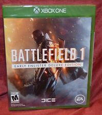 Xbox One 1 Battlefield 1 Early Enlister Deluxe Edition NEW Sealed REGION FREE