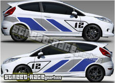 Ford Fiesta RALLY 017 ST-R racing stripe decals stickers graphics