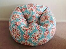 Multicolor Floral Pattern Pattern Bean Bag Without Beans XXXL