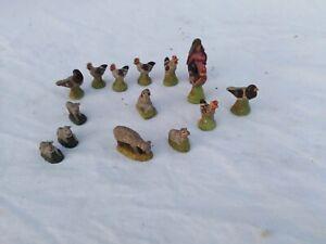 alte bauernhof figuren steingut