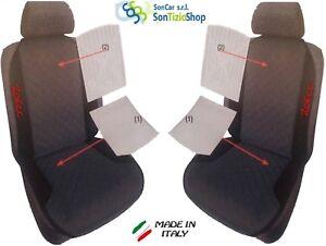 Sitzbezug klimatisierend schwarz für Peugeot 206 CC Cabriolet 2-türer 09.00