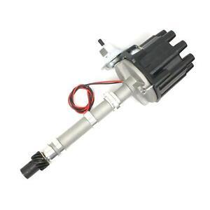 PerTronix D104600 Flame-Thrower Electronic Distributor, SBC/BBC, Black