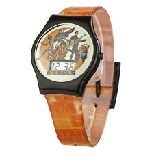 Official Star Wars Rebels Character Childrens LCD Wristwatch - Luke Hans Solo