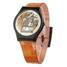 Oficial Star Wars Rebels personaje infantil LCD reloj de pulsera Luke Hans solo