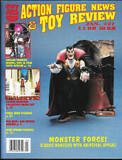 ACTION FIGURE NEWS AND TOY REVIEW # 27 MAGAZINE UNIVERSAL MONSTERS WWF CHILLER