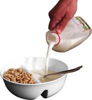 Just Crunch Anti-Soggy Cereal Bowl - Keeps Cereal Fresh and Crunchy | BPA Free |