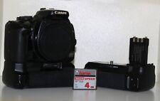 Canon EOS 400D 10.1MP DSLR Corpo e nuove lenti Canon +2 xBattery Grip E CARICABATTERIE