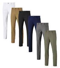 Pantalón de Hombre Puma Jackpot 5 Bolsillo Pantalones De Golf-Nuevo 2021-Elige Color Y Talla