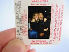 More details for original press photo slide negative - lionel richie & carly simon - 1994