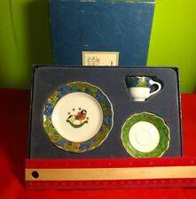 HUTSCHENREUTHER WEIHNACHTEN Boxed Set CHRISTMAS Tea cup set EXC!