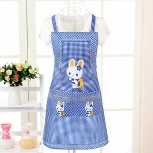 Cooking Apron Household Cleaning Aprons For Adults Lady Women Kitchen Supplies