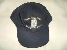 120afe423558f Israel National Defense College Ball Cap Hat w  Logo Symbol Insignia. Idf  Zahal