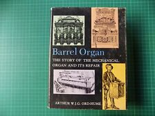 Barrel Organ Ord-Hume Mechanical Fairground Chamber Pipe Reed Restoration