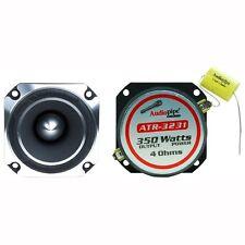 Pair (2 Tweeter) Audiopipe ATR-3231 Heavy Duty Titanium Super Tweeter 350W Each