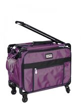 """Tutto 20"""" Regulation Collapsible Carry-On Luggage 4020RCO (Burgundy)"""