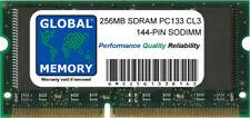256MB PC133 133MHz 144-PIN SDRAM SODIMM Memoria RAM per computer portatili/notebook