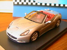 FERRARI CALIFORNIA SPIDER VERSION 2008 TITANIUM GREY BBR BBR213C 1/43 MADE ITALY