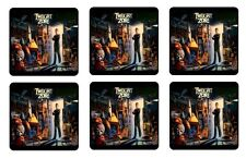 TWILIGHT ZONE COASTERS - 1/4 BAR & BEER SET OF 6