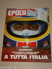 EPOCA=1984/1753=MICHELE ALBORETO FERRARI MITO=MAURICE BEJART=RAFFAELLA CARRA=