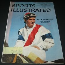 SPORTS ILLUSTRATED Jan 27,1958 Willie Shoemaker Cover - N.Y. Rangers Hockey