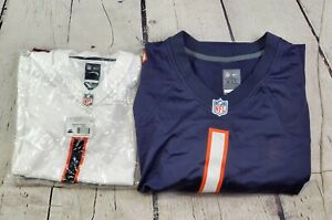 Lot of 2 Never Used Nike Adult/Youth Justin Fields Chicago Bears Jerseys-BBJ1476