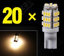 20X Warm White T10/921/194 RV Trailer 42-SMD 12V Backup Reverse LED Lights Bulbs