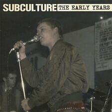 SUBCULTURE THE EARLY YEARS COMMON PEOPLE RECORDS LP VINYLE NEUF NEW VINYL 12""