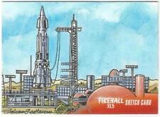 Fireball XL5 Gerry Anderson Sketch Card drawn by Graham Bleathman
