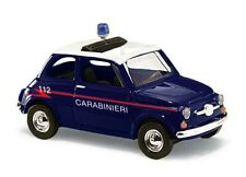 BUSCH 48728 Spur H0 Fiat 500, Carabinieri # Neu OVP#