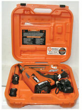 Paslode Cordless XP 30 Framing Nailer w Two batteries Charger & Case