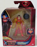 Powers of Krypton - Solar Power Superman Action Figure with Mega Bashing Ball