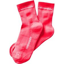 Cannondale socks Coral Pink Mid XL Extra Large mens cycling bike bicycle