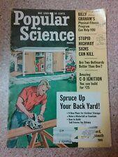 Old Vintage 1965 Popular Science Magazine spruce up backyard,  Billy Graham