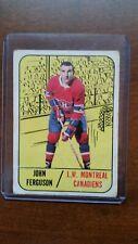 New listing 1967-68 JOHN FERGUSON #69 MONTREAL CANADIENS