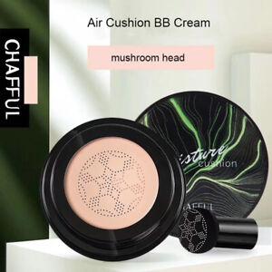 Magic~Air Cushion Mushroom Head CC Cream Concealer Moisturizing Makeup BB Cream=