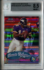 1999 Fleer Mystique DAUNTE CULPEPPER #/2999 RC Rare Vikings SP NM-Mint+ BGS 8.5