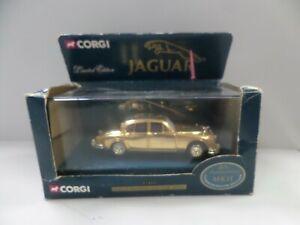 Corgi Gold Plated Jaguar MKII Limited Edition