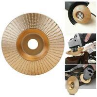 Hartmetall Holzschleifen Carving Shaping Disc für Winkelschleifscheibe Werk O6F4
