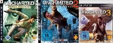 PlayStation 3 Uncharted 1 + 2 + 3 Triple Pack Collection muy buen estado