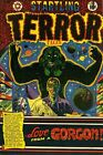 Startling Terror Tales 13 Comic Book Cover Art Giclee Reproduction on Canvas