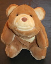 "Gund Snuffles Brown Rust Tan Teddy Bear Plush Vintage 1980 Lovey 10"" Big Euc Toy"